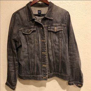 GAP black denim jacket
